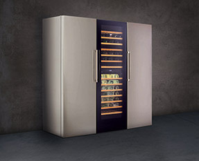 a picture of a freestanding wine coolers